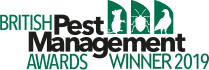 Cleankill Pest Control winner of British Pest Management Awards 2019 - Company of the Year